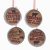 Item # 100879 - Farm Sayings Jar Lid Ornament