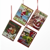 Item # 100902 - Santa Claus Christmas Book Ornament