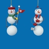 Item # 100927 - Golf Snowman Ornament
