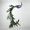 Item # 100936 - Large Purple/Blue Peacock Clip-On Ornament