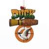 Item # 101083 - Duck Hunting Christmas Ornament