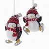 Item # 101130 - Frosted Snow Penguin Ornament