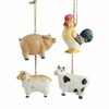 Item # 101133 - Farm Animal Ornament