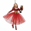 Item # 101155 - Red Clara Ornament