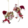 Item # 101197 - Mouse Holding Gift Ornament