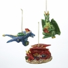 Item # 101216 - Christmas Dragon Ornament