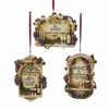 Item # 101247 - Vineyard Wine Plaque With Saying Ornament