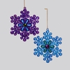 Item # 101249 - Peacock Snowflake Ornament