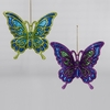 Item # 101257 - Peacock Butterfly Christmas Ornament