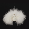 Item # 101273 - Fluffy White Peacock Ornament