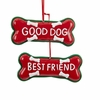 Item # 101274 - Good Dog/Best Friend Ornament