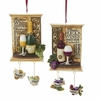 Item # 101278 - Vineyard Plaque With Dangle Ornament
