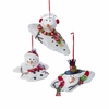 Item # 101305 - Melted Snowman Christmas Ornament