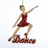 Item # 101357 - Dance Girl Christmas Ornament