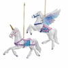 Item # 101362 - Unicorn/Pegasus Ornament