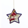 Item # 101414 - Baseball Star Christmas Ornament