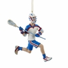 Item # 101432 - Lacrosse Boy Christmas Ornament