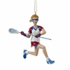 Item # 101440 - Lacrosse Girl Christmas Ornament