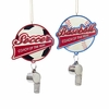 Item # 101451 - Soccer/Baseball Coach Of The Year With Whistle Ornament