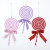 "Item # 101455 - 7"" Pastel Lollipop Christmas Ornament"