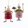 Item # 101456 - Well Done/Caution Men Grilling Ornament