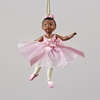 Item # 101465 - African American Little Ballerina Ornament