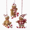Item # 101468 - Ronnie Rooney Gingerbread Sports Ornament