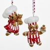 Item # 101470 - Ronnie Rooney Gingerbread Chef Boy/Girl Ornament