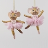 Item # 101481 - Ballet Mouse Christmas Ornament
