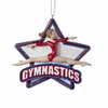 Item # 101494 - Gymnastics Girl Christmas Ornament