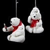 Item # 101546 - Coca-Cola Bear Christmas Ornament