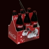 Item # 101548 - Mini Coca-Cola 6-Pack Christmas Ornament