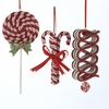Item # 101582 - Candy With Glitter Ornament