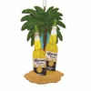 Item # 101601 - Corona Bottles With Limes On Beach Ornament
