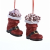 Item # 101614 - Santa Boot With Candy Ornament