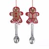 Item # 101615 - Gingerbread Man With Spoon Christmas Ornament