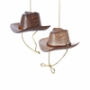 Item # 101656 - Brown/Light Brown Cowboy Hat Ornament