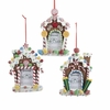 Item # 101676 - Candy House Photo Frame Christmas Ornament