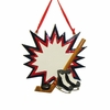 Item # 101725 - Ice Hockey Burst Ornament