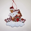 Item # 101753 - Candy House Christmas Ornament