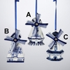 Item # 101826 - Porcelain Blue Delft Windmill Ornament