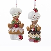 Item # 101842 - Gingerbread Boy On Cupcake/Donuts Ornament