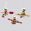 Item # 101843 - Gingerbread Spatula/Spoon/Rolling Pin Christmas Ornament
