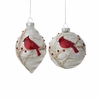 Item # 101908 - Cardinal Finial/Ball Ornament