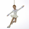 Item # 101913 - Girl Figure Skater Christmas Ornament