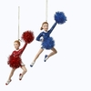 Item # 101923 - Cheerleader Christmas Ornament