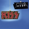 Item # 101962 - Kiss Logo With Band On Back Ornament
