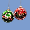 Item # 102033 - Green/Red M&M's Bubble Christmas Ornament