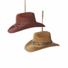 Item # 102178 - Cowboy Hat With Barb Wire Ornament