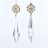 Item # 102196 - Gold Icicle With Jewels/Pearls Ornament